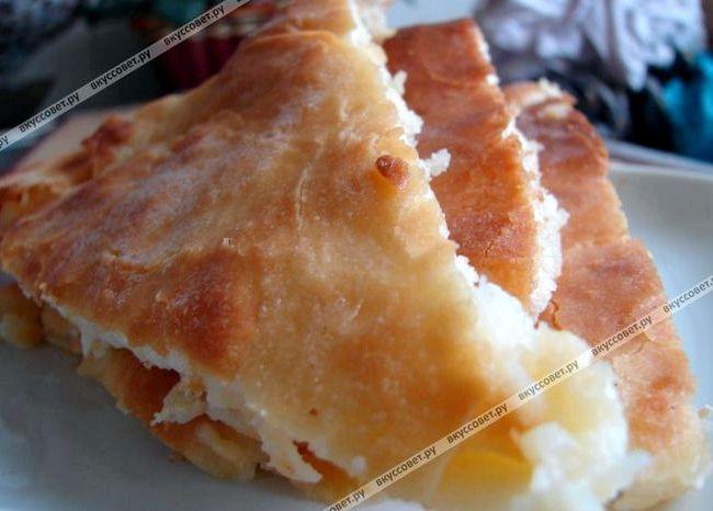 Осетинский пирог рецепт с картофелем и сыром