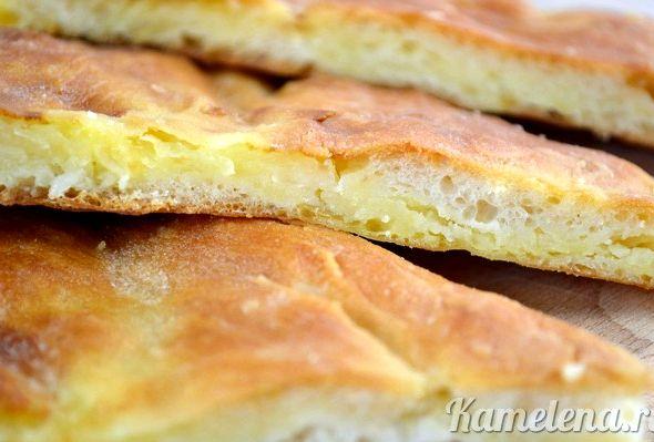 Осетинский пирог с сыром и картошкой рецепт с фото