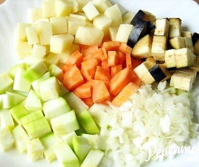 Овощное рагу рецепт с фото в мультиварке