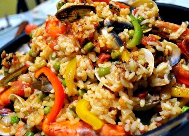 Паэлья с морепродуктами рецепт классический