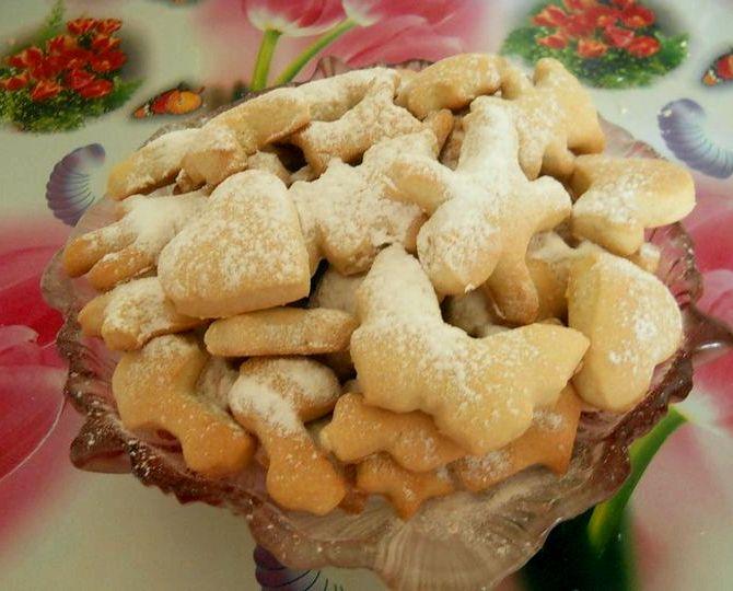 Печенье на огуречном рассоле рецепт