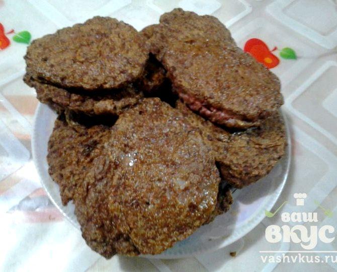 Печеночные котлеты из куриной печени рецепт пошагово с фото