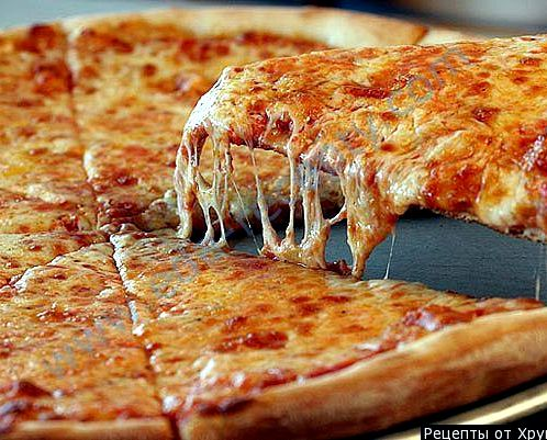 Пицца рецепт без дрожжей с фото пошагово
