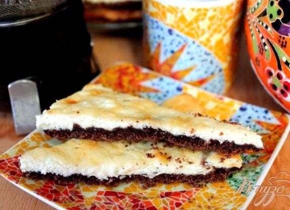 Пирог крошка с творогом пошаговый рецепт