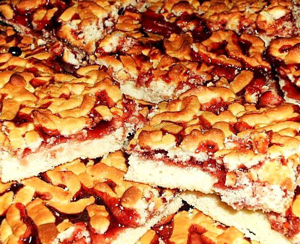 Пирог кудрявый с вареньем рецепт с фото