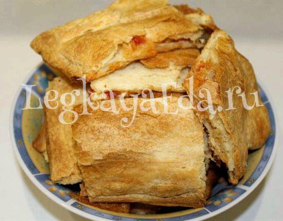 Пирог на скорую руку рецепт с фото пошагово