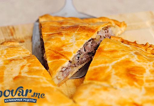 Пирог с картошкой и курицей рецепт с фото в духовке