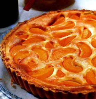 Пирог с персиками свежими рецепт с фото