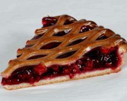 Пирог со свежими ягодами рецепт с фото