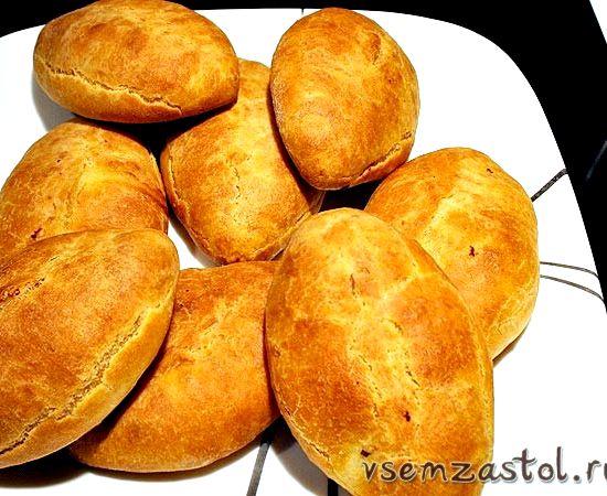 Пирожки на кефире в духовке без дрожжей рецепт с фото