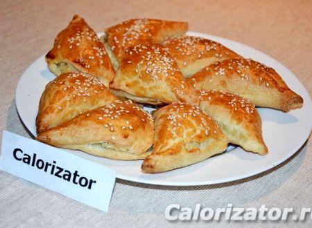 Пирожки с курицей в духовке пошаговый рецепт с фото