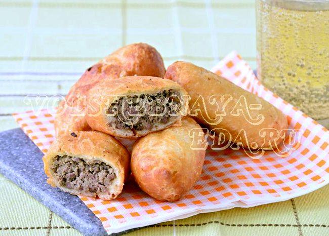 Пирожки с ливером рецепт с фото пошагово