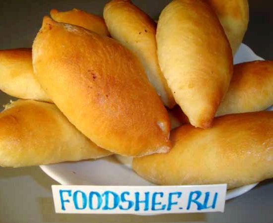 Пирожки с творогом в духовке рецепт с фото