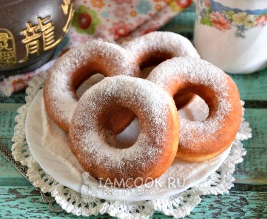 Пончики классический пошаговый рецепт с фото