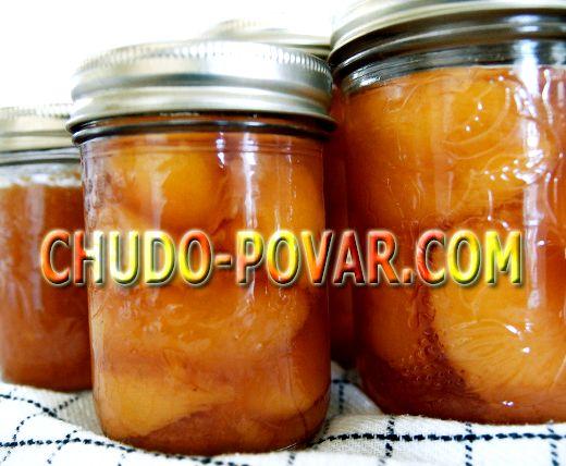 Повидло из персиков на зиму рецепт с фото