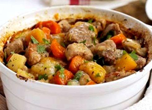 Рагу из индейки с овощами рецепт с фото