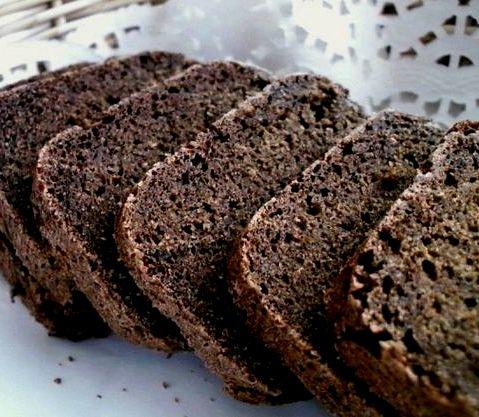 Рецепт черного хлеба для хлебопечки.