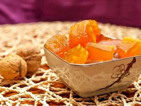 Рецепт цукаты из тыквы в домашних условиях