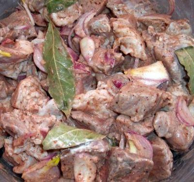 Рецепт для маринада шашлыка из свинины с уксусом