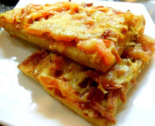 Рецепт для теста пиццы бездрожжевого