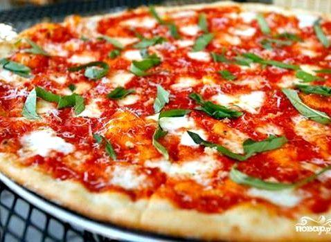 Рецепт для теста пиццы простой рецепт