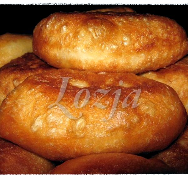Рецепт дрожжевого теста для пирожков жареных