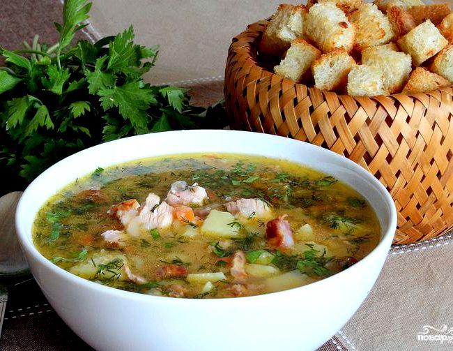 Рецепт горохового супа с курицей рецепт