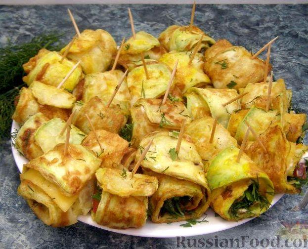 Рецепт из кабачков тещин язык с фото
