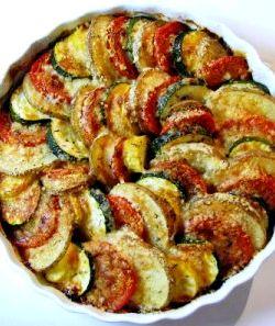 Рецепт кабачки с сыром и помидорами в духовке рецепт с фото