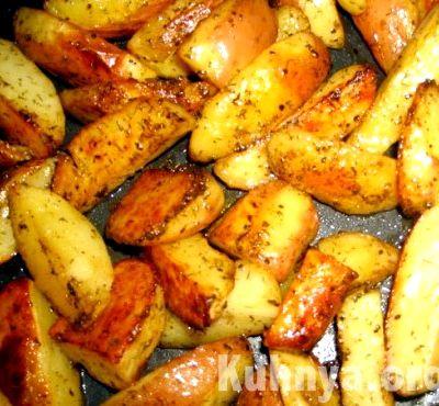 Рецепт картофель по-деревенски с фото