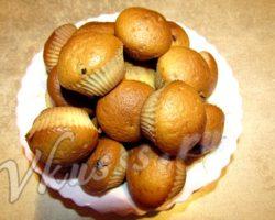 Рецепт кексов на кефире в силиконовых формочках