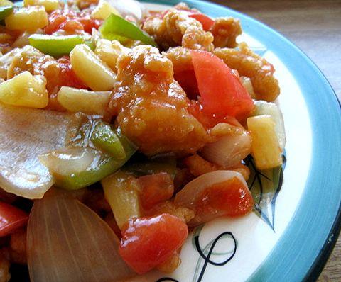 Рецепт кисло-сладкий соус для курицы