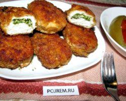 Рецепт котлет по киевски в домашних условиях