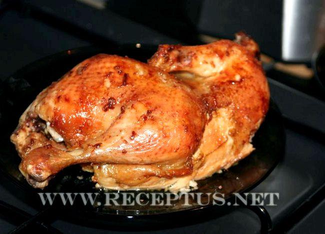 Рецепт курица в соусе в духовке рецепт с фото