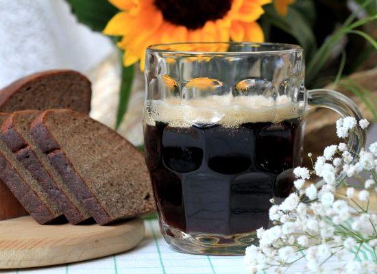 Рецепт кваса из черного хлеба и сухих дрожжей