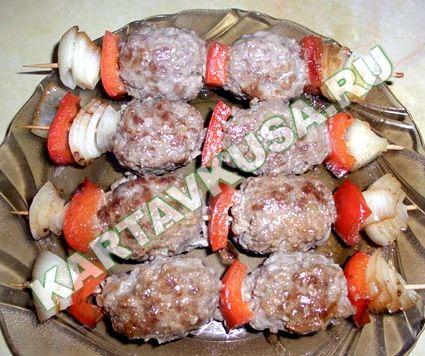 Рецепт люля-кебаб в домашних условиях на сковороде