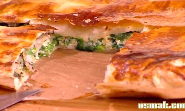 Рецепт луковый пирог от юлии высоцкой