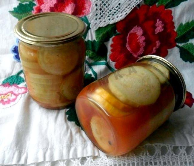 Рецепт на зиму кабачков с кетчупом чили