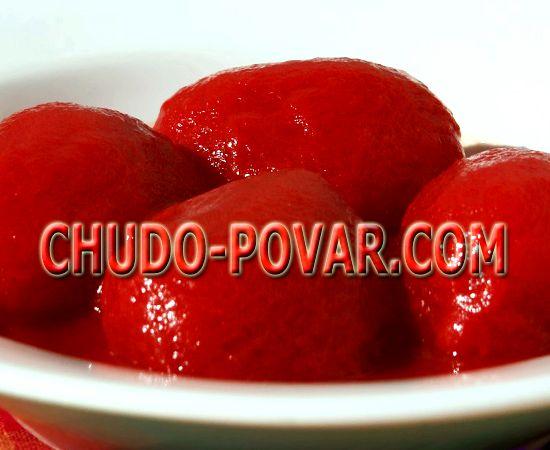 Рецепт на зиму томаты в собственном соку