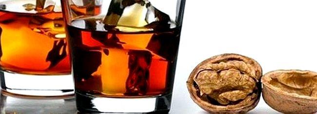 Рецепт настойка на грецких перегородках