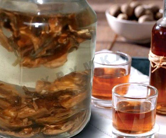 Рецепт настойка на перегородках грецких