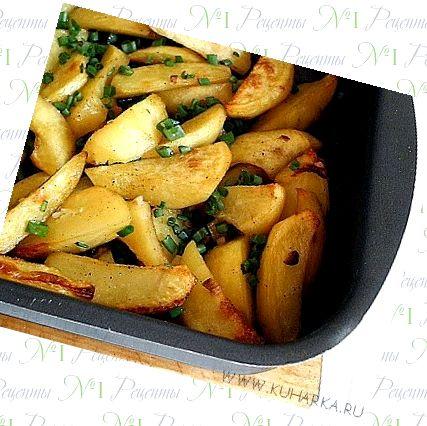 Рецепт печеная картошка в духовке с фото