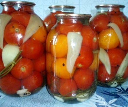 Рецепт помидоры на зиму простой рецепт