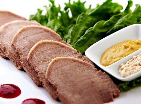 Рецепт приготовления говяжьего языка.