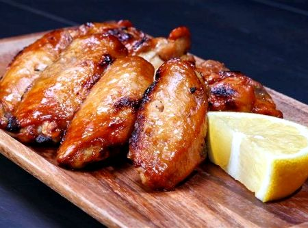 Рецепт приготовления крылышек куриных