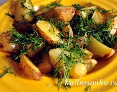 Рецепт с фото картофель по деревенски