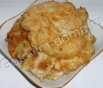 Рецепт с фото куриные грудки в кляре