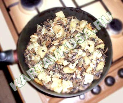 Рецепт с грибами шампиньонами рецепт с фото