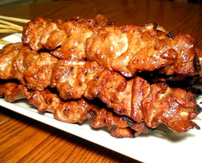Рецепт шашлыка из свинины с уксусом с луком
