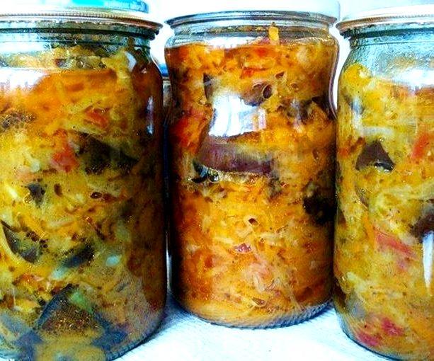 Рецепт солянка с капустой и грибами на зиму